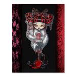 Liquorice Cin Cin  Fantasy Goth CandyPostcard