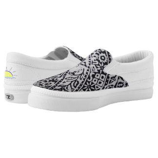Liris Pattern of Gajah Oling Batik Slip-On Shoes
