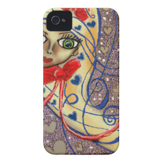 Lisa in Love iPhone 4 Cover
