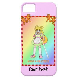Lisa Lollipop with gingerbread men iPhone 5 Case