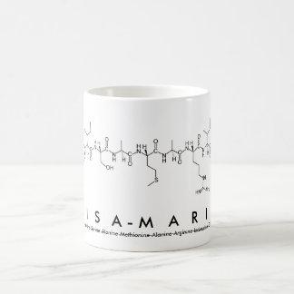 Lisa-Marie peptide name mug