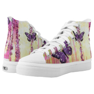 Lisa's Butterflies High Tops