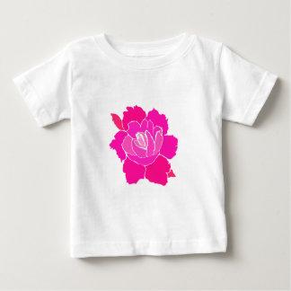 lisasharp (3) pink rose baby T-Shirt