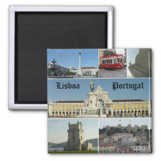 Lisbao, Lisboa,  Portugal Magnet