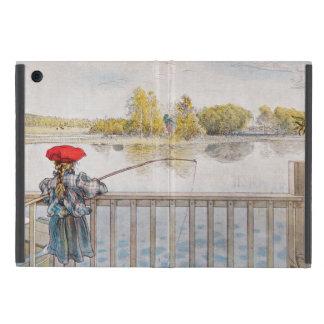 Lisbeth Fishing by Carl Larsson Cases For iPad Mini