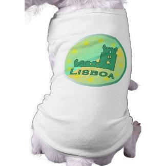 Lisboa Sleeveless Dog Shirt