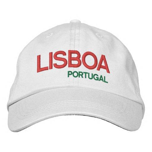 LISBOA PORTUGAL Personalized Adjustable Hat Embroidered Hat