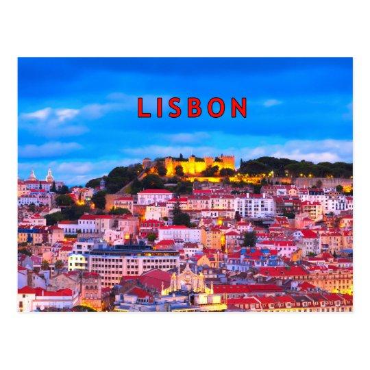 Lisbon 001B Postcard