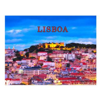 Lisbon 001D Postcard