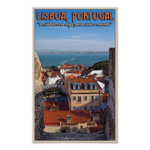 Lisbon - Boat on the Tejo Posters
