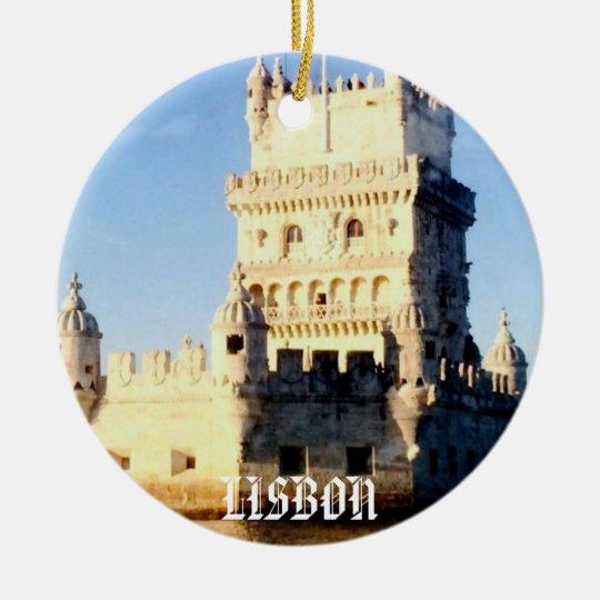 Lisbon Christmas Ornament