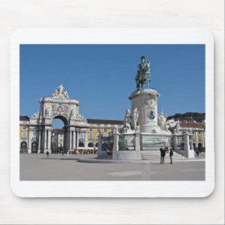 Lisbon Commerce Square Mouse Pad