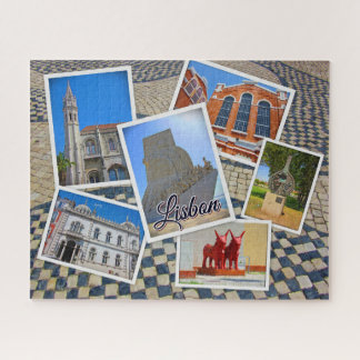 Lisbon Jeronimos Monastery & Discoveries Monument Jigsaw Puzzle
