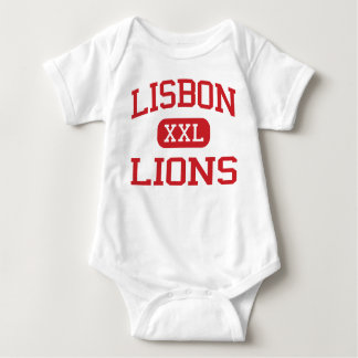 Lisbon - Lions - Lisbon High School - Lisbon Iowa Baby Bodysuit