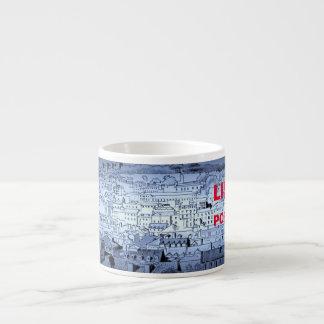 Lisbon Panorama Sketch Espresso Cup