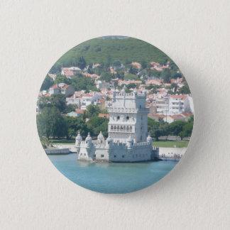 Lisbon, Portugal 6 Cm Round Badge