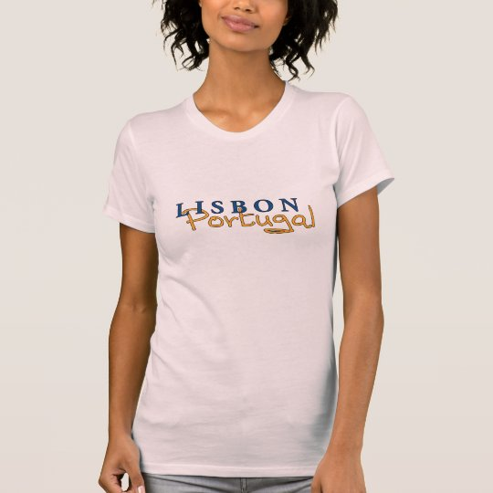 Lisbon Portugal Ladies' T T-Shirt