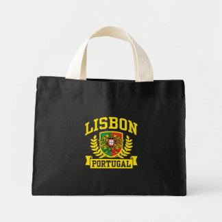 Lisbon Portugal Mini Tote Bag