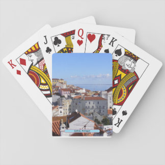 Lisbon, Portugal Playing Cards