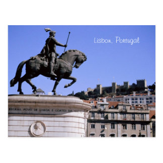 Lisbon, Portugal Postcard