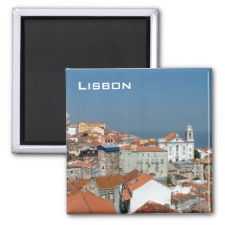Lisbon Square Magnet