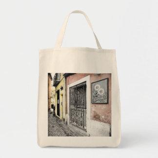 LISBON STREET (URBAN CHIC) Grocery Tote Bag