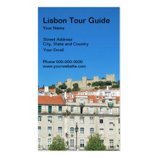 Lisbon Tour Guide Business Card