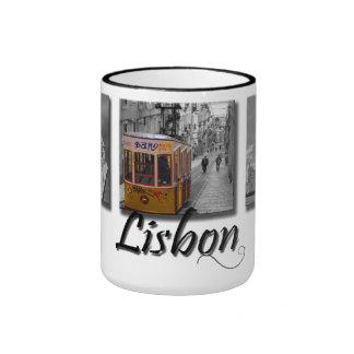 Lisbon Yellow Tram Mug