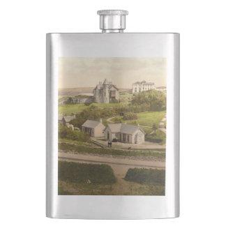 Lisdoonvarna, County Clare, Ireland Flask