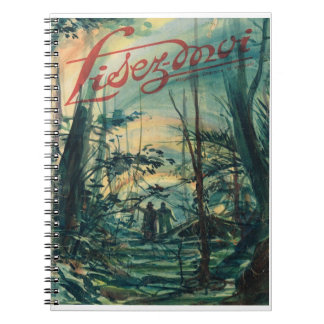Lisez-moi, A walk in the forest Spiral Notebook