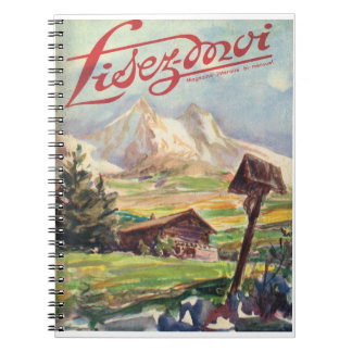Lisez-moi, Alpine Adventure Notebook