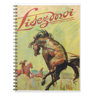 Lisez-moi, Breaking horses in the Wild West Notebook