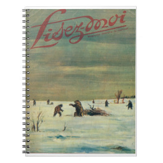 Lisez-moi, Brown bears on the ice Spiral Notebook