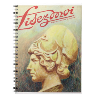 Lisez-moi, Classical carved head Spiral Notebook