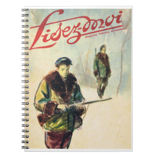 Lisez-moi, Hunters in the forest Notebook