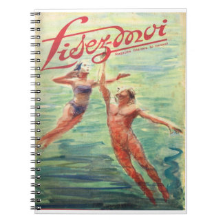 Lisez-moi, Underwater adventure Spiral Notebook