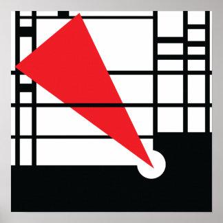 Lissitzky & Mondrian Print