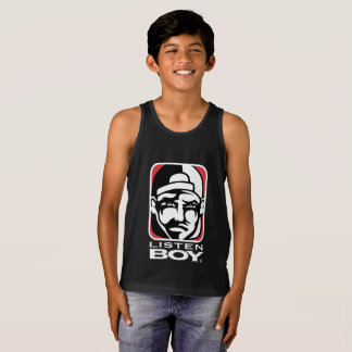 Listen BOY Clothing with Attitude Tank Top