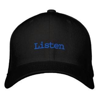 Listen Dj Hat Embroidered Hats