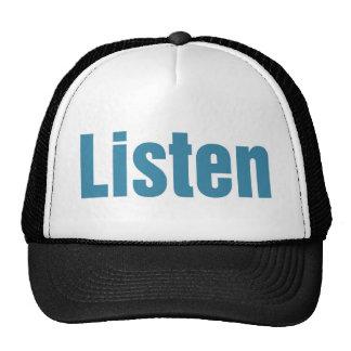 Listen Trucker Hats