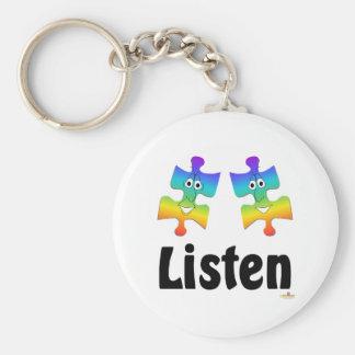Listen Key Chains