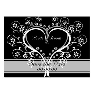 Listen To My Heart Affordable Save The Date Cards Pack Of Chubby Business Cards