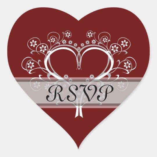 Listen To My Heart Wedding Stickers