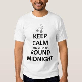 Listen to Round Midnight Tshirt