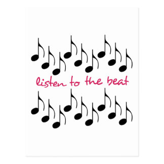 Listen To The Beat Postcards