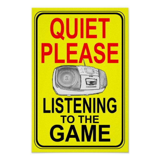 Listen to the Game Print