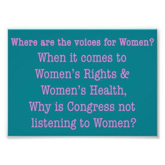 Listen to Women (2017) Photo Print