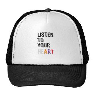 Listen to Your heART Cap