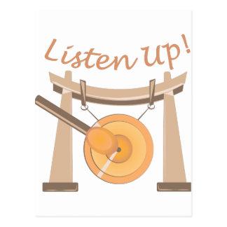 Listen Up Postcard