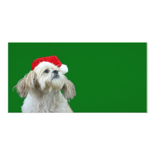 Listening for Santa Customized Photo Card